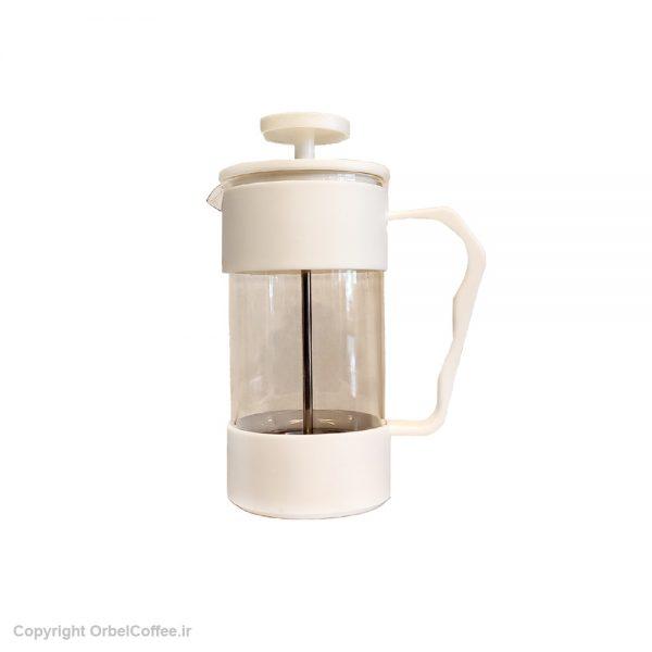 قهوه ساز Yitian مدل French Press سفید ظرفیت 350 میلی لیتر