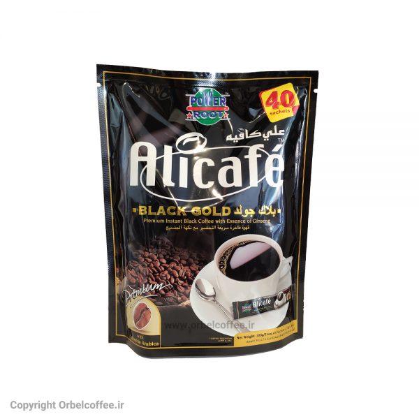 پودر قهوه علی کافه مدل بلک گلد