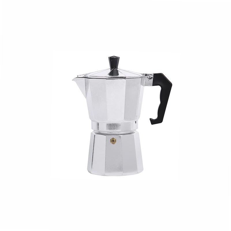 قهوه ساز موکاپات ساده آلومینیومی سایز 3 نفره