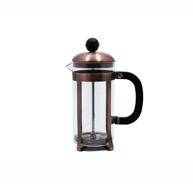 قهوه ساز فرنچ پرس YITIAN رنگ مسی ظرفیت 350 میلی لیتر