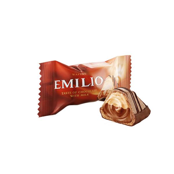 ویفر امیلیو ABK با مغز شکلات مقدار 1 کیلوگرم