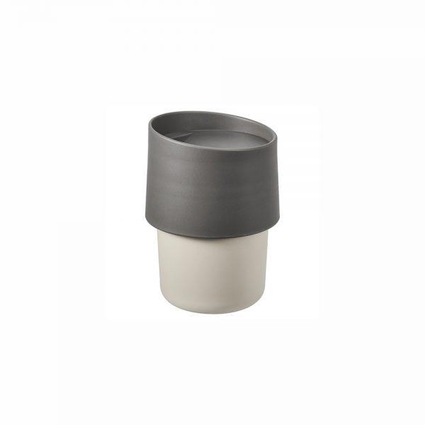 ماگ ایکیا مدل TROLIGTVIS رنگ خاکستری
