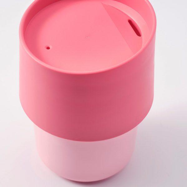 ماگ ایکیا مدل TROLIGTVIS رنگ صورتی