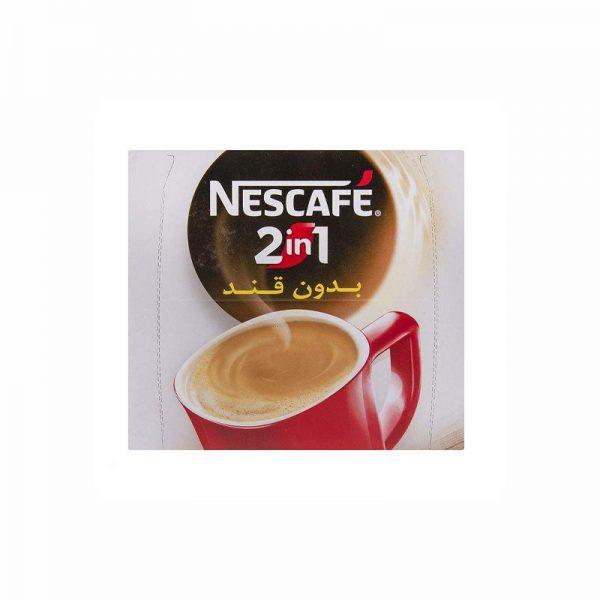 قهوه فوری 1 × 2 نسکافه بدون قند بسته 20 عددی