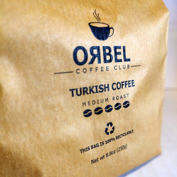 قهوه ترک مدیوم اربل با بسته بندی سنتی وزن 250 گرم