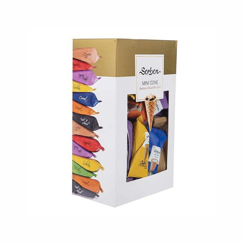 شکلات پذیرایی مخروطی سوربن وزن 350 گرم