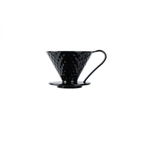 قهوه ساز v60 دریپر سرامیکی Mojae مشکی 1 تا 2 فنجان