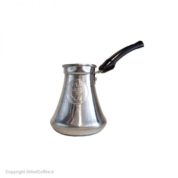 قهوه جوش آلومینیومی 4 نفره سایز متوسط