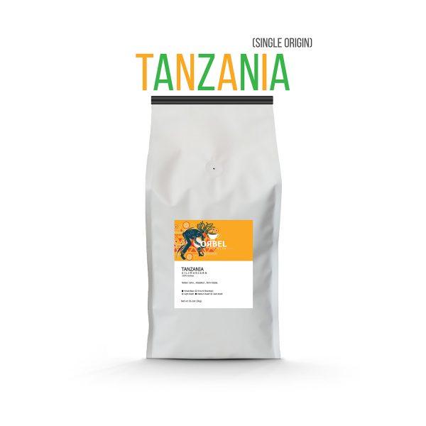 دانه قهوه اربل مدل تانزانیا