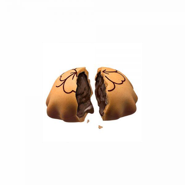 بیسکویت بیسکولاتا با مغز شکلات پاکتی 40 گرم