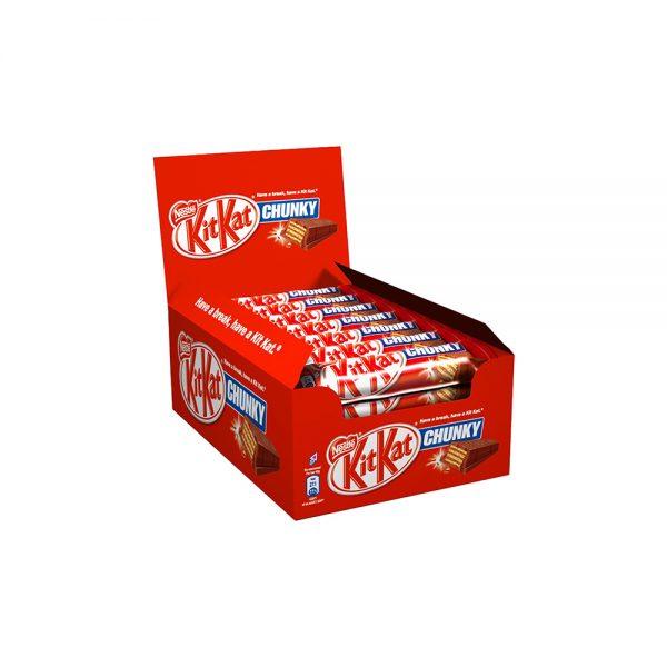 ویفر شکلات کیت کت مدل چانکی Kitkat Chunky
