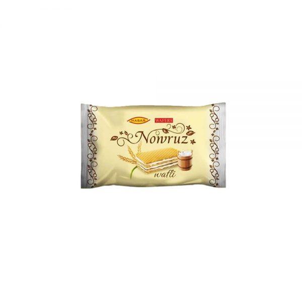 ویفر شیری هاسار نوروز بسته 12 عددی Hasar Nowruz